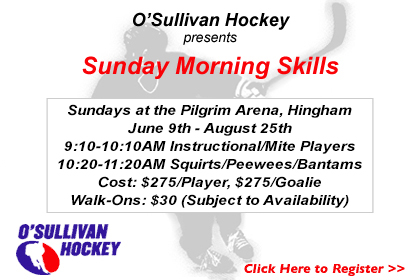 Register for Sunday Morning Skills